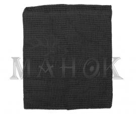 Сетка-шарф маскировочная черная (хлопок 100%)