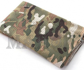 Маскировочная сетка-шарф 160 х 40 см Dark CP (мягкий трикотаж)