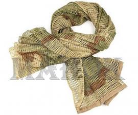 Сетка-шарф маскировочная Desert Camo (хлопок 100%)