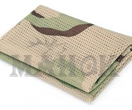 Шарф-сетка маскировочный 160 х 40 см Desert Camo (мягкий трикотаж)