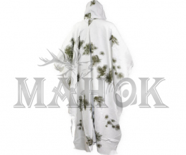 Маскхалат-пончо зимний Бундесвер Клякса
