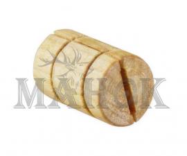 Манок на лису деревянный Дуэт бочонок (писк мыши)