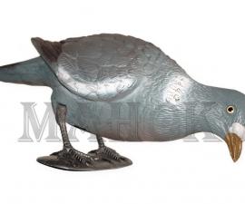 Муляж голубь Вяхирь BIRDLAND с ножками и опорой