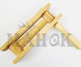 Трещотка охотничья деревянная (для загонщиков и поднятия птицы)