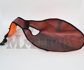 Накидка (попона) для собак малая оранжевая