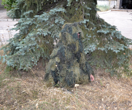 Костюм маскировочный Джилли лесной камуфляж 4 в 1