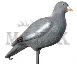 Муляж голубь пластмассовый Hunting Birdland на палке (37х13х11 см)