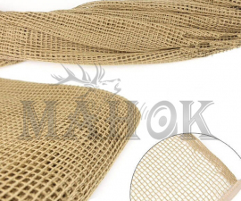 Сетка-шарф маскировочная песок (хлопок 100%)