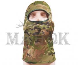 Маска из сетки для лица и шеи Multicam