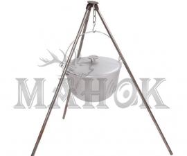Казан походный с крышкой и дужкой (10-20 л)