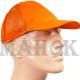 Кепка сигнальная оранжевая со вставкой из сетки